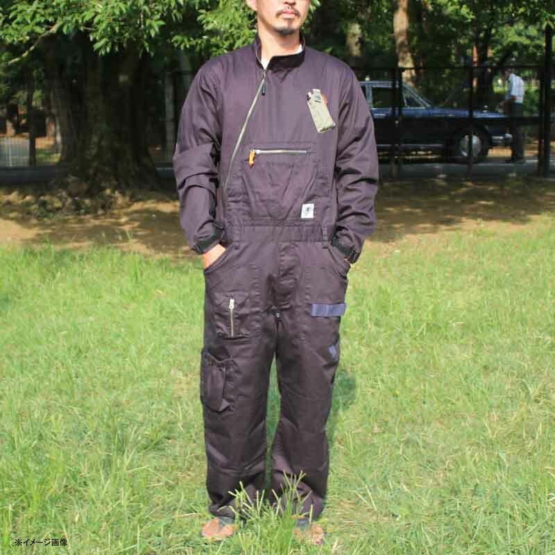 grn outdoor HIASOBI BIG BEN JUMP SUIT