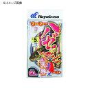 ハヤブサ(Hayabusa) ハゼだぜ カラフル天秤セット 鈎7/ハリス1 赤 HA110