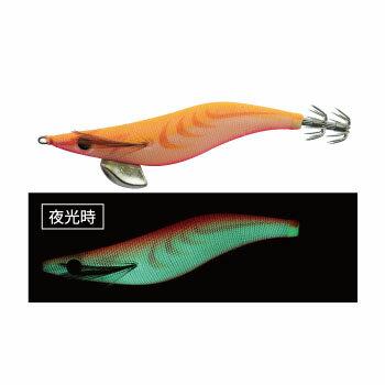 ヤマシタ(YAMASHITA)エギ王QLIVE3.0号B18BOFP(オレンジピンクベリー×夜光)EOQL3B18BOFP