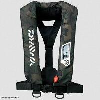 ダイワ(Daiwa)DF-2007ウォッシャブルライフジャケット(肩掛けタイプ手動?自動膨脹式)フリーグリーンカモ04595372
