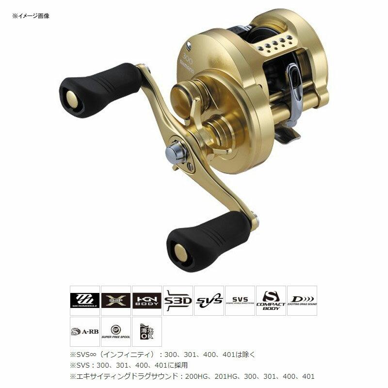 シマノ(SHIMANO)18カルカッタコンクエスト300R右巻き03863
