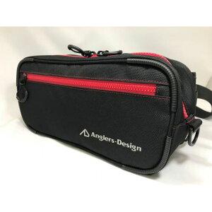 アングラーズデザイン(Anglers-Design) ロックショアバッグII レッドステッチ ADB-36RS