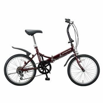 自転車・サイクリング, 折りたたみ自転車 (CAPTAIN STAG) FDB206 20 YG-210
