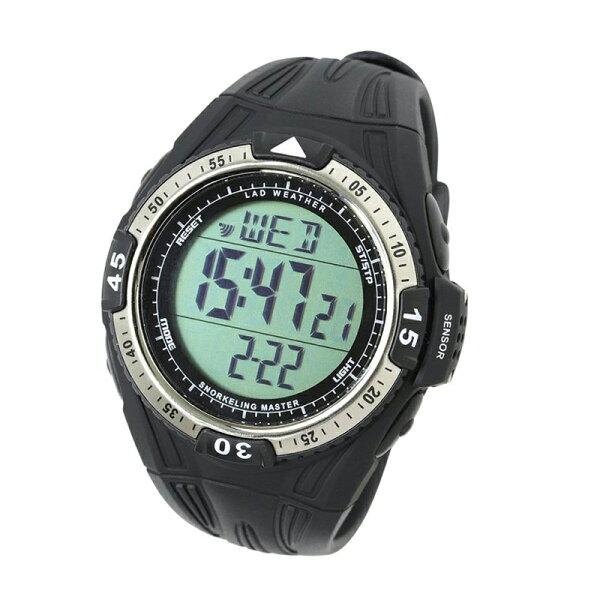 LADWEATHER(ラドウェザー)シュノーケリングマスターダイビング腕時計lad040bk