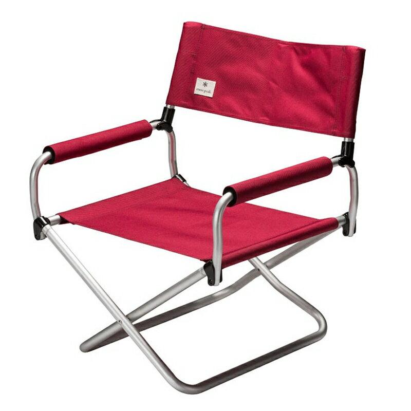 椅子・テーブル・レジャーシート, 椅子 (snow peak) LOW LV-075RD