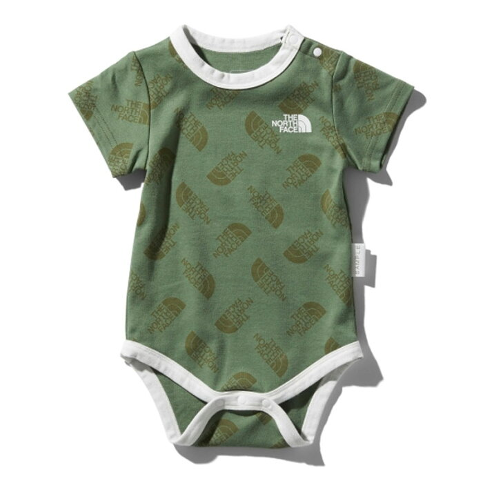 THE NORTH FACE(ザ・ノースフェイス) S/S SMOOTH COTTON ROMPERS KID'S 70 LO NTB11965