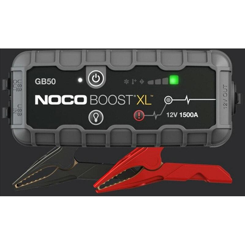 NOCO(ノコ)ジャンプスターターグレーGB50