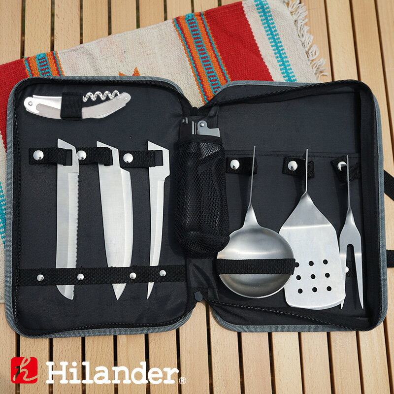 Hilander(ハイランダー)キッチンツールセットHCA0155