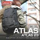 【送料無料】Coleman(コールマン) 【ATLAS/アトラス】アトラス23/ATLAS23 23L ブラック 2000021675【SMTB】