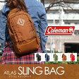 【送料無料】Coleman(コールマン) 【ATLAS/アトラス】アトラススリングバッグ/ATLAS SLING BAG 5L タバコ 2000021743【SMTB】