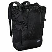 【送料無料】パタゴニア(patagonia) Lightweight Travel Tote Pack(ライトウェイト トラベル トート パック) 22L BLK(Black×Black) 48808【あす楽対応】【SMTB】
