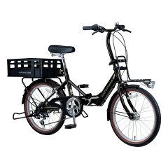 キャプテンスタッグ(CAPTAIN STAG) コンタナFDB206BAA 20インチ ブラック YG-234 キャプテンスタッグ(CAPTAIN STAG) 折りたたみ自転車
