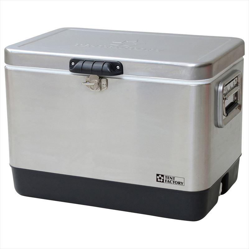 テントファクトリー メタルクーラー ステンレスボックス