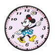 キャプテンスタッグ(CAPTAIN STAG) ディズニー メラミンコースター(ミニーマウス/時計) ミニーマウス/時計 MA-1381