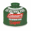 Coleman(コールマン) ガスタイプColeman(コールマン) 純正イソブタンガス燃料[Tタイプ]230g