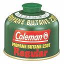Coleman(コールマン) ガスタイプColeman(コールマン) 純正LPガス燃料[Tタイプ]230g