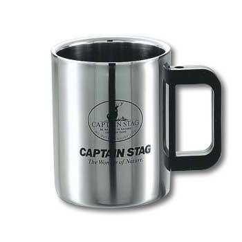 キャプテンスタッグ(CAPTAIN STAG) マレー ダブルステンマグカップ420ml M-1247