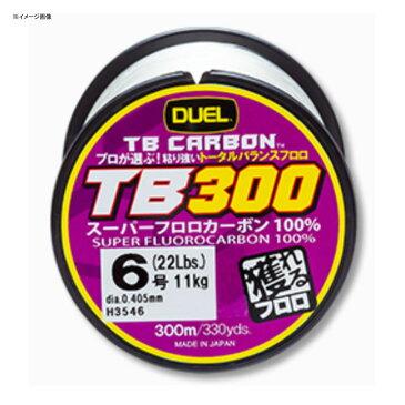 デュエル(DUEL) TB CARBON(カーボン) TB300 300m 7号 ナチュラルクリア H3547【あす楽対応】