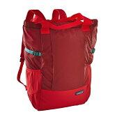 【送料無料】パタゴニア(patagonia) Lightweight Travel Tote Pack(ライトウェイト トラベル トート パック) 22L DRMF(Drumfire Red) 48808【SMTB】