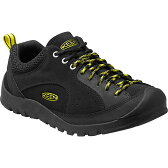 【送料無料】KEEN(キーン) JASPER ROCKS(ジャスパー ロックス) Men's 9.5/27.5cm Black×Neon Yellow 1015665【SMTB】