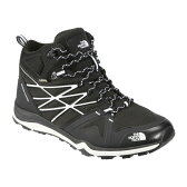 【送料無料】THE NORTH FACE(ザ・ノースフェイス) HEDGEHOG FASTPACK LITE MID GORE−TEX Men's 8/26.0cm KW(TNFブラック×ホワイト) NF01524【SMTB】