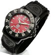 Smith&Wesson(スミス&ウェッソン) 455 FIRE FIGHTER WATCH POLICE SERIES ブラック×レッド sww-455f