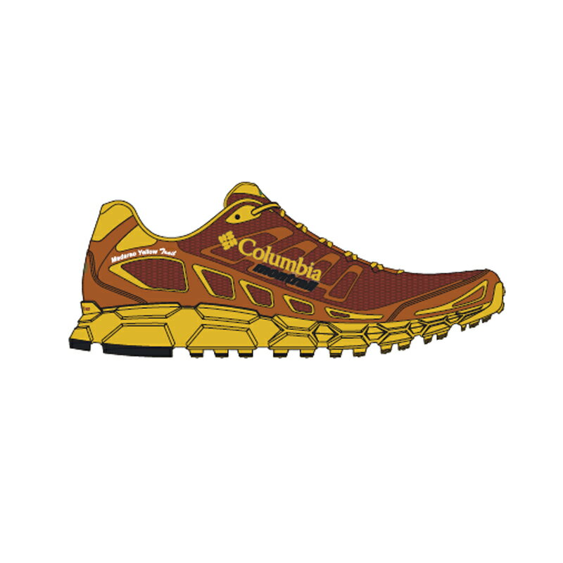 【送料無料】マウンテンハードウェア BAJADA 3 MADARA Men's 8/26.5cm 710(Electron Yellow×Rusty YM5406【SMTB】