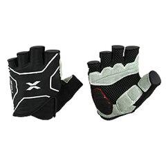 2XU(ツー・タイムズ・ユー)Elite Cycle Gloves Men's XL Black×Black