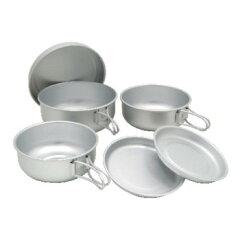 EPI(イーピーアイ) お皿&ランチボックスEPI(イーピーアイ) アルミ6点食器セット シルバー C-5307