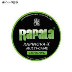 Rapala(ラパラ) ルアー用ラインRapala(ラパラ) ラピノヴァ・エックス マルチゲーム 150m 0.4...