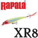 Rapala(ラパラ)XR8 X-RAP 8cm CLN(クラウン)