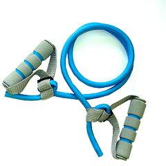 SINTEX(シンテックス) トータルフィットネス ハンドル付トレーニングチューブ 強 ブルー