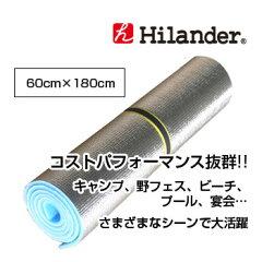 【オススメ品】Hilander(ハイランダー)アルミロールマット 60×180 S