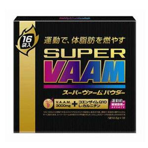 明治(VAAM) スポーツ系ドリンク明治(VAAM) SUPER VAAM スーパーヴァーム パウダータイプ 16袋 VAAMスポーツタオル付き