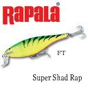 Rapala(ラパラ) シーバス用ルアーRapala(ラパラ) シャロー シャッドラップ SSR−7 FT