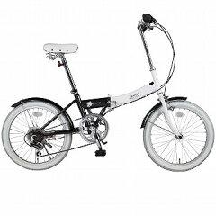 阪和 20インチ カラフル折りたたみ自転車 6段変速 TRAILER 20インチ ブラック BGC-N10-BK 阪和 折りたたみ自転車