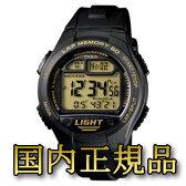 【送料無料】カシオ (CASIO) 【国内正規品】W−734J−9AJF ブラック【あす楽対応】【SMTB】