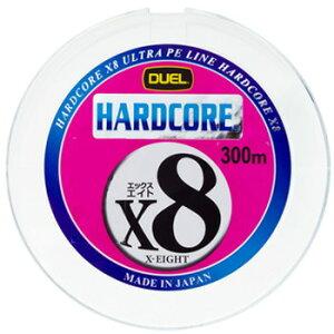【お買い得商品】デュエル(DUEL) ルアー用ラインデュエル(DUEL) HARDCORE X8(ハードコアエッ...