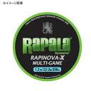 Rapala(ラパラ) ラピノヴァ・エックス マルチゲーム 150m 2号/32.8lb ライムグリーン RLX150M20LG【あす楽対応】
