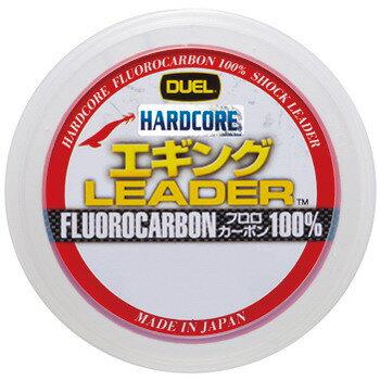 デュエル(DUEL) HARDCORE エギング LEADER 30m 1.5号/6lb ナチュラル H3373