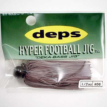 ルアー・フライ, ハードルアー (Deps) HYPER FOOTBALL JIG() 12oz 06