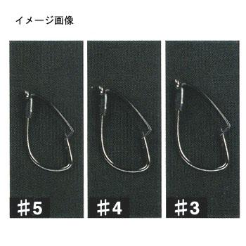 カツイチ(KATSUICHI)ショットガードワーム100チューンドプラス#3Black