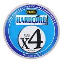 デュエル(DUEL) HARDCORE X4(ハードコア エックスフォー) 200m 1.5号/25lb 10m×5色 H3249