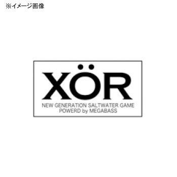 メガバス(Megabass) ステッカー XOR 30cm シルバー