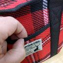キャプテンスタッグ(CAPTAIN STAG) 起毛トートクーラーバッグ かわいいチェック柄 レジャー/キャンプ 4L レッド UE-537 3
