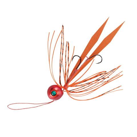 ハヤブサ(Hayabusa) 無双真鯛 フリースライド TGヘッド コンプリートモデル 75g #9(サンセットオレンジ) SE123