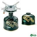 キャプテンスタッグ(CAPTAIN STAG) オーリック小型ガスバーナーコンロ+レギュラーガスカートリッジCS-250 M-7900+M-8251 1