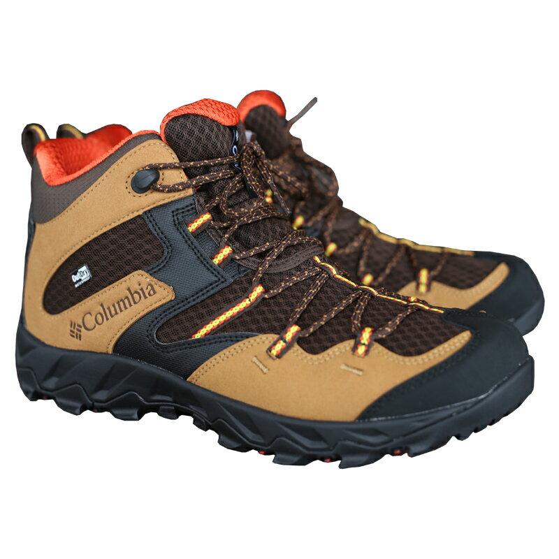 登山・トレッキング, 靴・ブーツ Columbia() SABER IV MID OUTDRY(4 ) 8.526.5cm 264(MAPLE HOT) YM7463