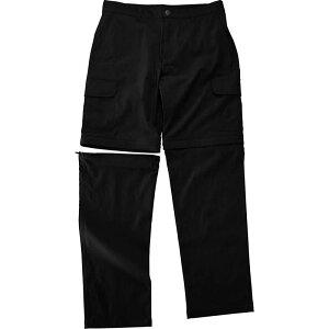 LAD WEATHER(ラドウェザー) ライトトレッキングパンツ コンバーチブル Men's XL ブラック ladpants007bk-xl