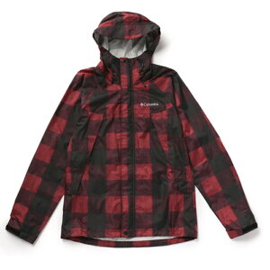 Columbia(コロンビア) WABASH PATTERNED JACKET(ワバシュ パターンド ジャケット) Men's XL 614(MOUNTAIN RED PATTERN) PM5664